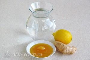 Домашний имбирный лимонад: Ингредиенты