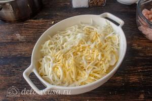 Посыпаем тертым сыром