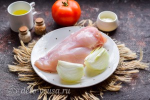 Куриные отбивные по-французски: Ингредиенты
