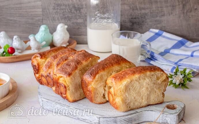 Отрывной молочный хлеб с бананом