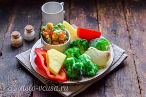 Овощное рагу с брокколи и картошкой: Ингредиенты