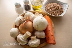 Перловая каша с грибами: Ингредиенты