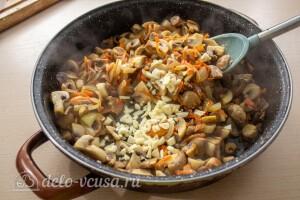 Перловая каша с грибами: фото к шагу 7.