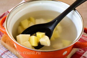 Варим картошку 10 минут