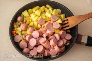 Жарим овощи 5 минут