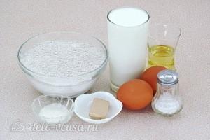 Ржаные дрожжевые блинчики: Ингредиенты