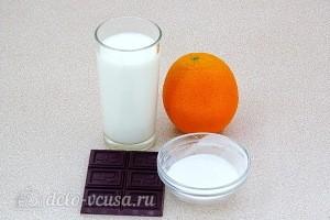 Шоколадный пудинг с апельсиновым соком: Ингредиенты
