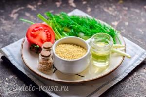 """Армянский салат """"Табуле"""" с булгуром: Ингредиенты"""