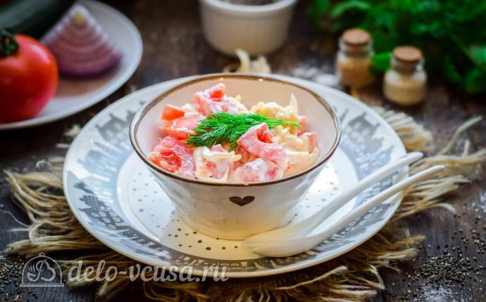 Салат «Смак» с помидорами