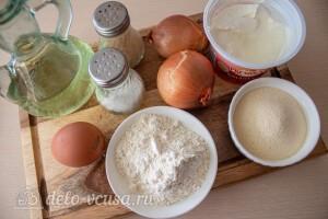 Цыбульники – луковые оладьи: Ингредиенты