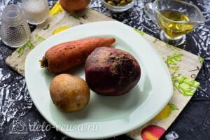 Отвариваем овощи до готовности