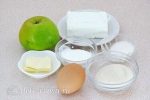 Яблочно-творожное суфле на манке для малышей: Ингредиенты
