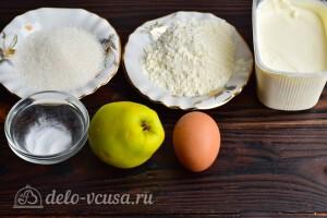 Яблочные пончики на скорую руку: Ингредиенты
