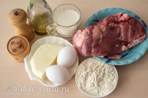 """Мясные зразы """"Птичье молоко"""": Ингредиенты"""