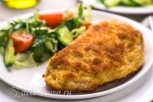 Кордон блю из курицы с сыром и ветчиной готов