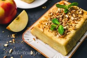 """Французский """"Невидимый"""" яблочный пирог готов"""