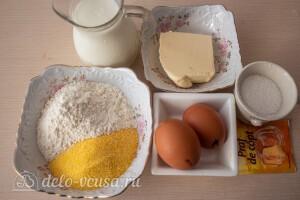 Кукурузные панкейки на кефире: Ингредиенты