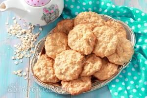 Пп овсяное печенье с творогом и грушей без муки готово