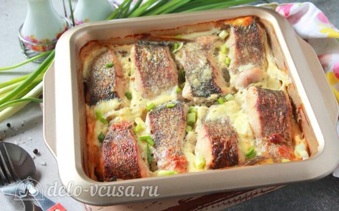 Щука в сметане в духовке: фото блюда приготовленного по данному рецепту