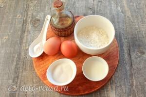 Хотто кейки – японские оладьи: Ингредиенты