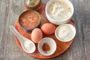 Закусочные вафли из тунца: Ингредиенты