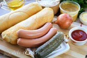 Датский хот-дог: Ингредиенты