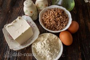 Гречневые котлеты с сыром Фета: Ингредиенты