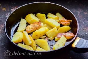 Жарим картошку до готовности