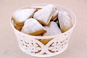 Песочное печенье с пряностями готово
