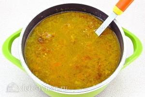 Варим суп еще 5 минут
