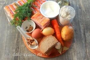 Белый борщ – польский суп Журек: Ингредиенты