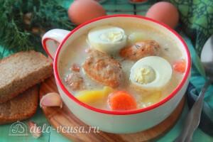 Польский суп Журек готов