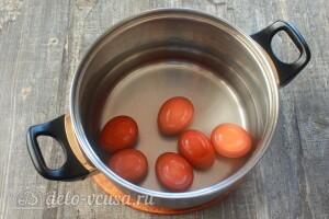Варим вкрутую яйца