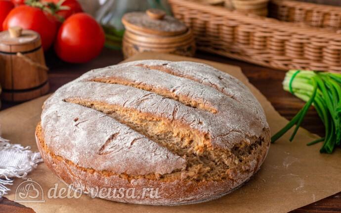 Домашний гречневый хлеб с семечками подсолнуха