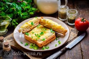 """Французские тосты """"Крок-месье"""" готовы"""