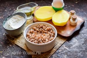 Котлеты из гречки и картофеля с подливкой: Ингредиенты