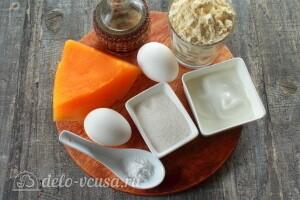 Безглютеновые кукурузные вафли с тыквой: Ингредиенты