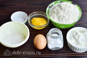Мягкое медовое печенье на сметане: Ингредиенты