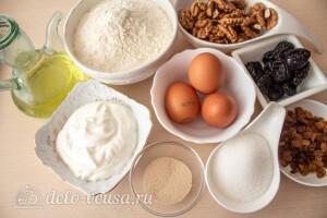 Пасхальный венок с тройной начинкой в хлебопечке: Ингредиенты