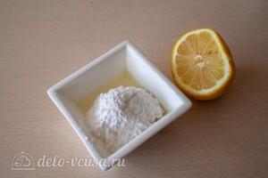 Готовим ингредиенты для глазури