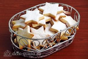 Простое песочное печенье на вареных желтках готово.