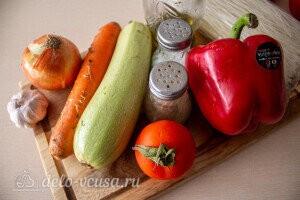 Рисовая лапша Фунчоза с овощами: Ингредиенты