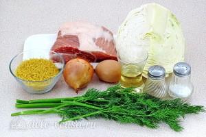 Свиные котлеты по-вьетнамски: Ингредиенты