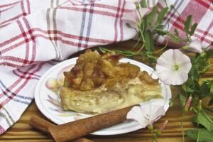 Творожно-яблочный пирог из лаваша на скорую руку: фото к шагу 19.