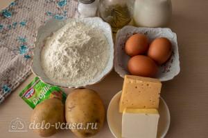 Ватрушки с картофелем и сыром в хлебопечке: Ингредиенты