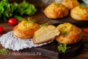 Ватрушки с картофелем и сыром готовы