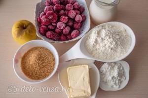 Вишневый коблер с яблоками: Ингредиенты