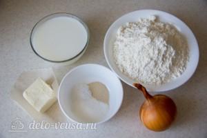Воздушный луковый хлеб в духовке: Ингредиенты