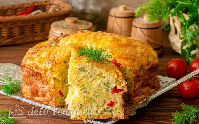 Рецепт запеканка с картошкой, перцем и сыром