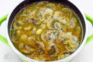 Варим суп до готовности